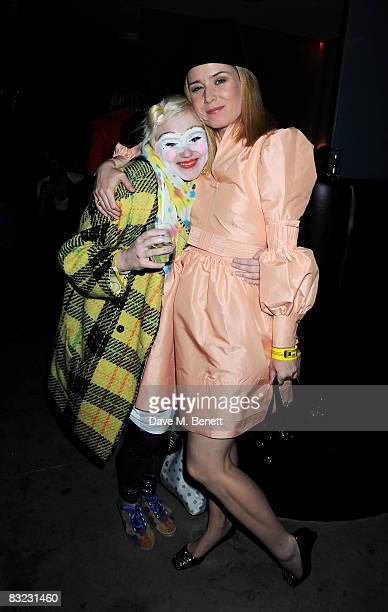 Roisin Murphy attends The Diesel xXx Creative Experiment Party as Diesel celebrates its 30th Birthday at Matter in the O2 Arena on October 11 2008 in...