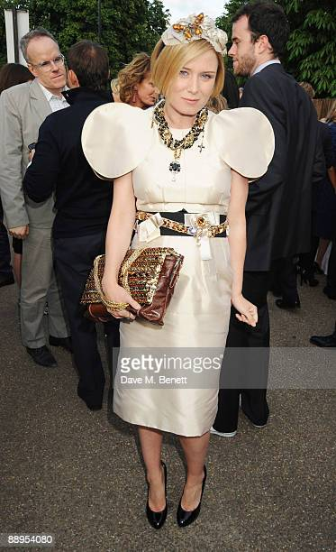 Roisin Murphy attends the Serpentine Gallery Summer Party at The Serpentine Gallery on July 9 2009 in London England