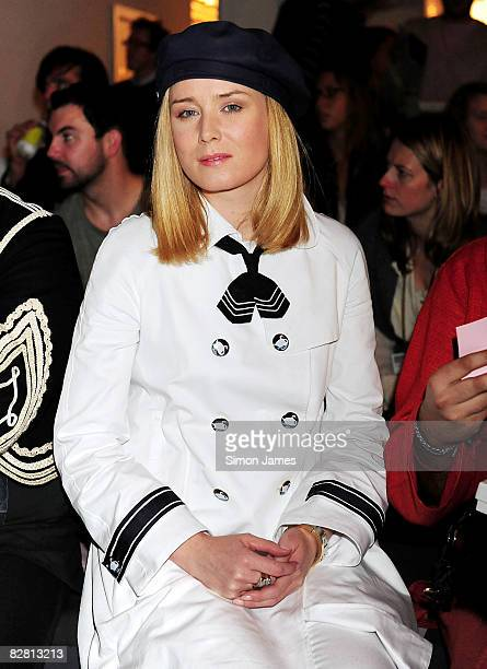 Roisin Murphy attends the Topshop LFW Spring Summer 2009 runway show at the University Of Westminster on 14 September 2008 in London England
