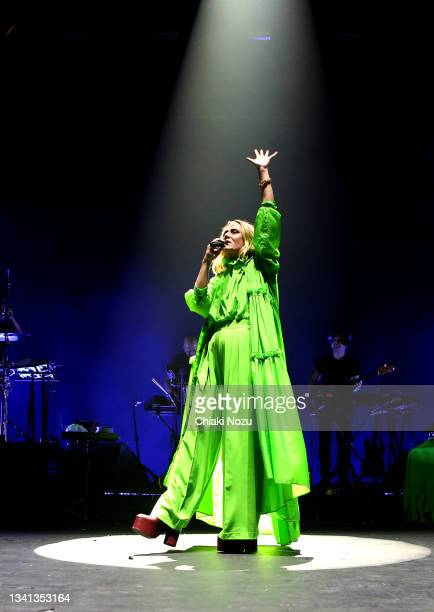 Roisin Murphy performs at Brixton Academy on September 19, 2021 in London, England.