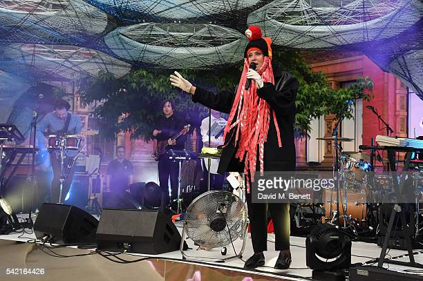 Roisin Murphy performs at the 2016 VA Summer Party In Partnership with Harrods at The VA on June 22 2016 in London England