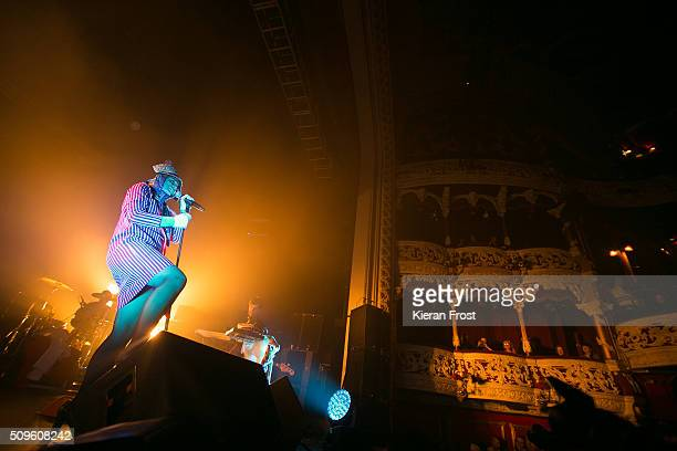 Roisin Murphy performs at the Olympia Theatre on February 11 2016 in Dublin Ireland