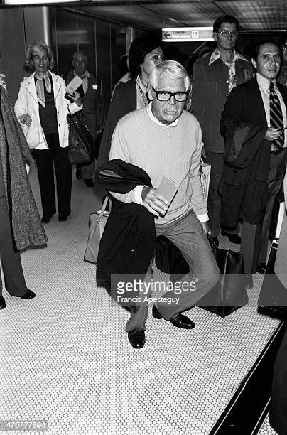 Roissy Airport France Cary Grant arriving at CharlesdeGaulle International Airport
