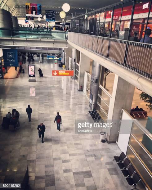 Roissy Charles de Gaulle Airport Halle, Paris, Frankreich