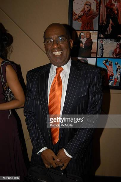 Roker attends Walter Cronkite Hosts a Private Screening of Warner Independent Pictures' Good Night And Good Luck Directed by George Clooney at MGM...
