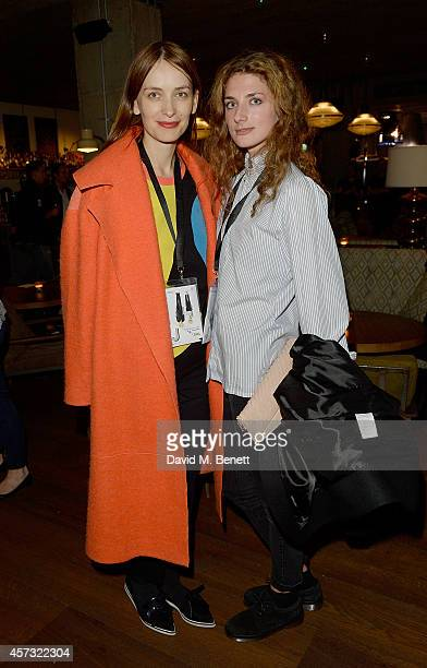 Roksanda Ilincic and Daisy Bevan at the newly opened hotel The Hoxton Holborn launching with an immersive theatre play The Backstage Tour written by...
