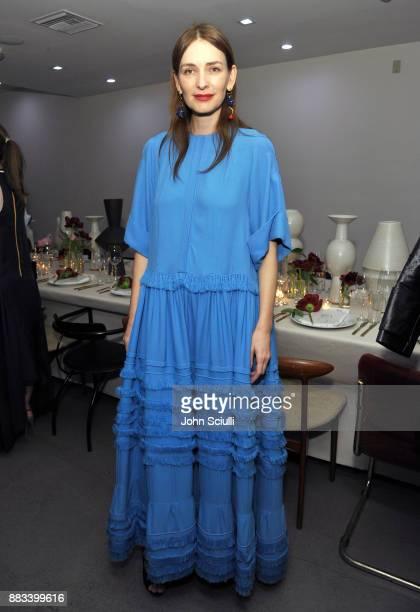 Roksanda Ilincic at Nordstrom and Olivia Kim Host Dinner for Roksanda Ilincic at Eric Buterbaugh Los Angeles on November 30 2017 in Los Angeles...