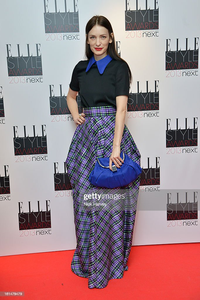 Roksanda Ilincic attends the Elle Style Awards 2013 on February 11, 2013 in London, England.