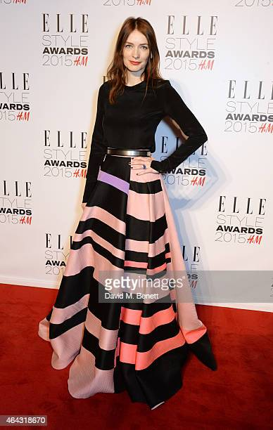 Roksanda Ilincic attends the Elle Style Awards 2015 at Sky Garden @ The Walkie Talkie Tower on February 24, 2015 in London, England.