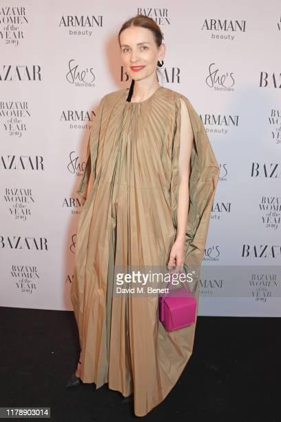 Roksanda Ilincic attends the Harper's Bazaar Women of the Year Awards 2019, in partnership with Armani Beauty, at Claridge's Hotel on October 29,...