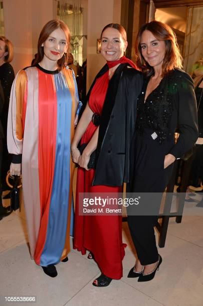 Roksanda Ilinicic Yana Peel and Alison Loehnis attend the Harper's Bazaar Women Of The Year Awards 2018 in partnership with Michael Kors and...