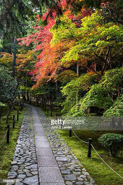 Rokuo-in garden employs the borrowed scenery of Arashiyama as a part of its design. The garden is of a classic design and well tended. The temple...