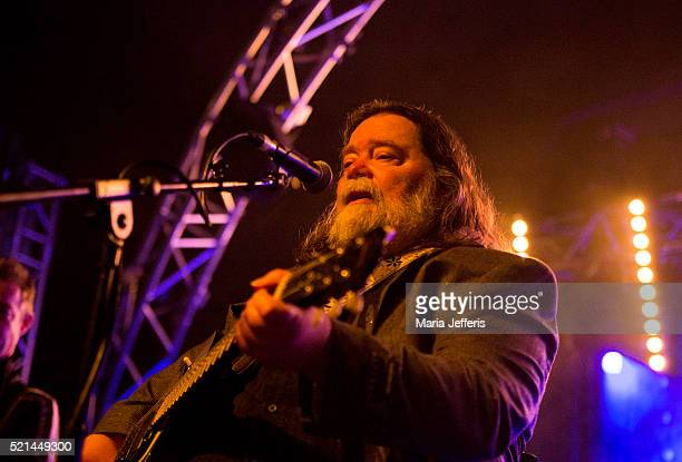Roky Erickson of 13th Floor Elevators performs at Pontins on April 15 2016 in Prestatyn Wales
