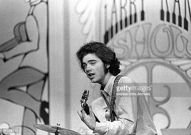 Roky Erickson of the '13th Floor Elavators' performs on the Larry Kane Show in 1967 in Houston Texas