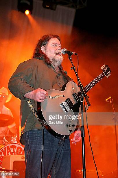 Roky Erickson of the 13th Floor Elevators performs with the group for the first time in 45 years during the Levitation Festival at Carson Creek Ranch...
