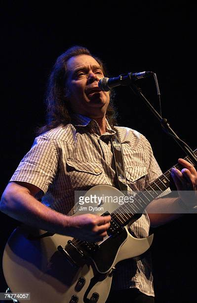 Roky Erickson of the legendary psychedelic group 13th Floor Elevators performs with his band The Explosives in his first ever UK show as part of the...