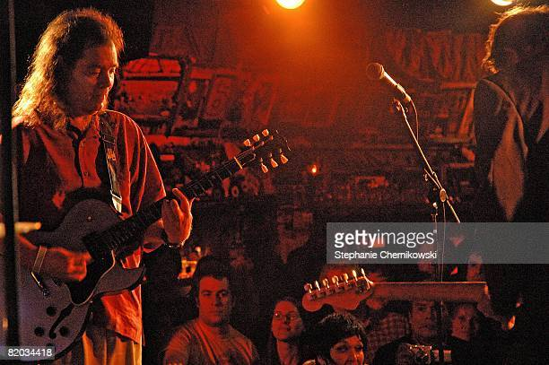 Roky Erickson of the rock and roll group '13th Floor Elevators' performs onstage in 2007 for his first performance in New York City New York