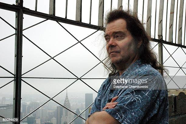 Roky Erickson of the rock and roll group '13th Floor Elevators' poses for a portrait at the Empire State Building in New York City New York