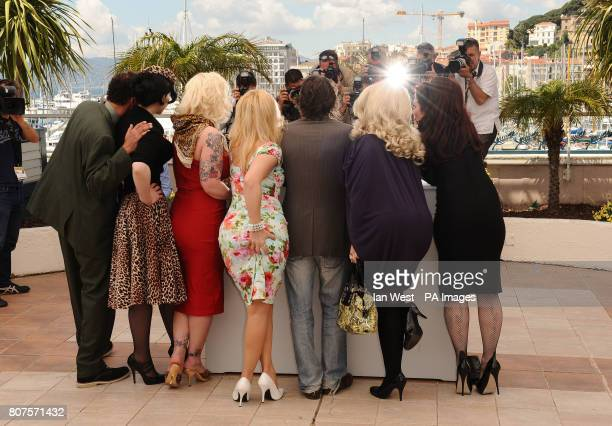 Roky Roulette Evie Lovelle Mimi Le Meaux Julie Atlas Muz French director and actor Mathieu Amalric Dirty Martini and Kitten on the Keys during the...