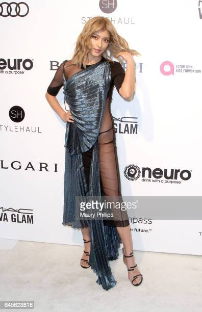 Rola attends the 25th annual Elton John AIDS Foundation's Oscar Viewing Party Arrivals at The City of West Hollywood Park on February 26 2017 in West...
