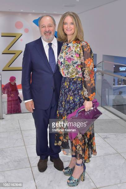 Roland Augustine and Allegra Pesenti attend the Hammer Museum 16th Annual Gala in the Garden with generous support from South Coast Plaza at the...