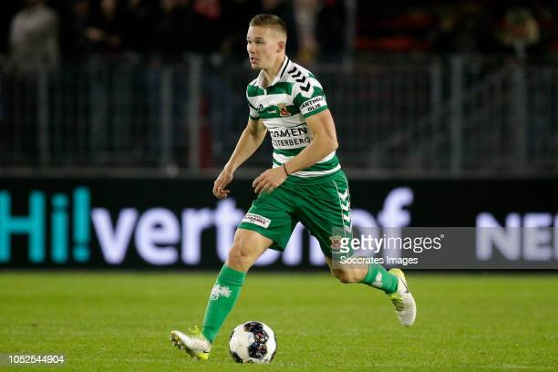 Roland Baas of Go Ahead Eagles during the Dutch Keuken Kampioen Divisie match between Almere City v Go Ahead Eagles at the Yanmar Stadium on October...