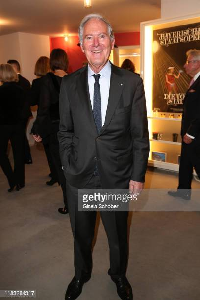 Roland Berger at the opera premiere of Die tote Stadt by Erich Wolfgang Korngold at Bayerische Staatsoper on November 18 2019 in Munich Germany