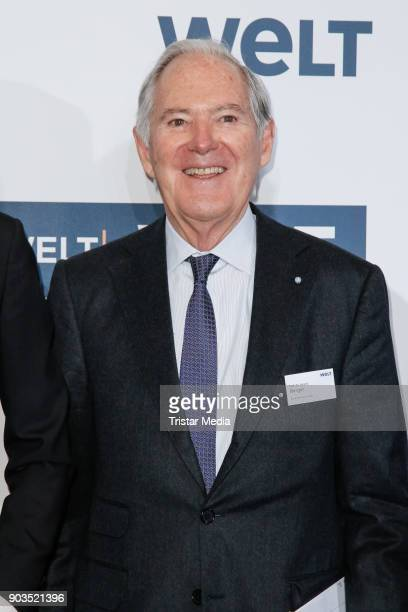 Roland Berger attends the 'World Economic Summit ' 2018 on January 10 2018 in Berlin Germany