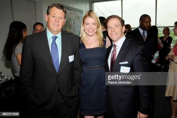 Roland Betts Amy McFarland and Francis Cuttita attend NEW YORKERS FOR CHILDREN 'Sports Network to Success' Event for Youth in Foster Care at Pier 61...