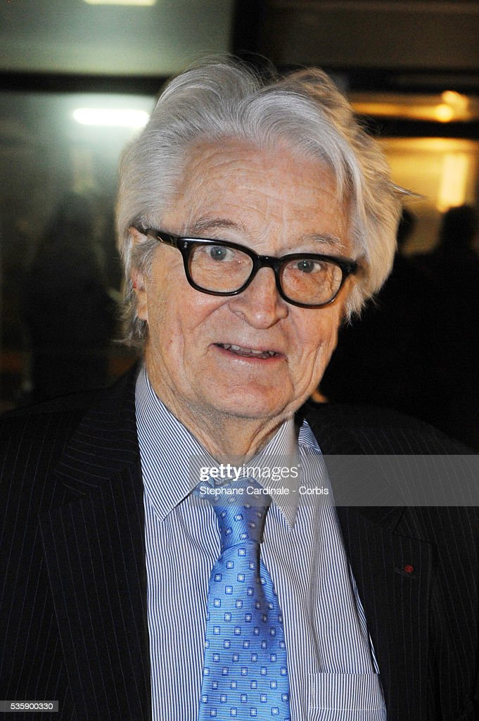 Roland Dumas attends France Soir Launch Party in Paris.