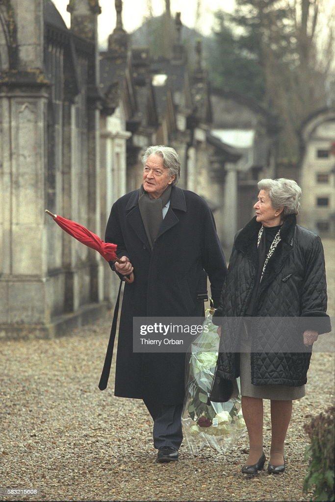 Hommage a François Mitterrand a Jarnac : ニュース写真