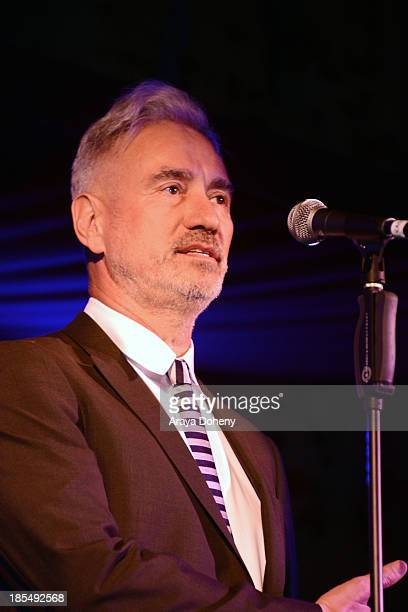 Roland Emmerich attends 'An Evening Under The Stars' Benefiting The LA Gay Lesbian Center on October 19 2013 in Los Angeles California