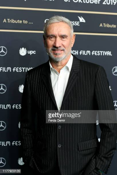 Roland Emmerich attends the The Day After Tomorrow premiere during the 15th Zurich Film Festival at Kino Corso on September 29 2019 in Zurich...