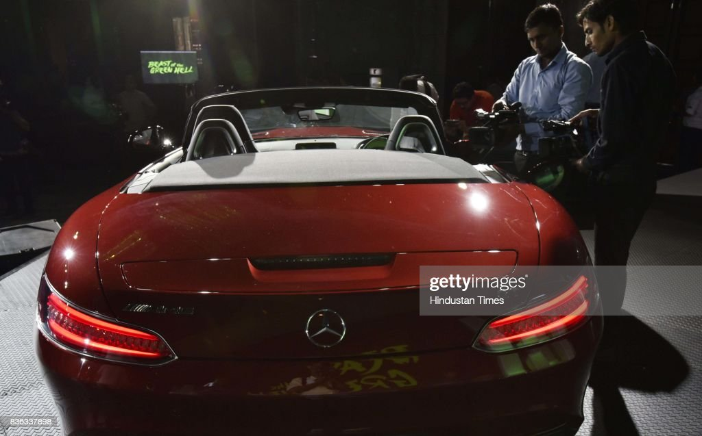 Roland Folger, MD & CEO, Mercedes-Benz India (Not in the picture), at the launch of AMG GT Roadster on August 21, 2017 in New Delhi, India.