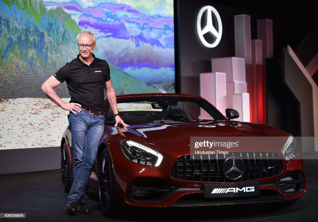 Roland Folger, MD & CEO, Mercedes-Benz India, at the launch of AMG GT Roadster on August 21, 2017 in New Delhi, India.
