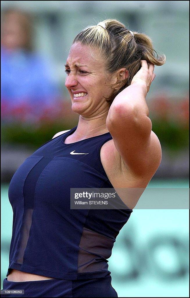 Roland Garros Tennis Tournament On May 29Th, 2002 In Paris ...