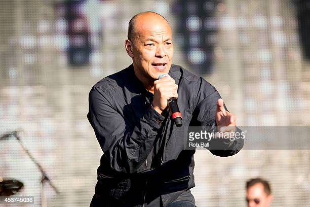 Roland gift stock photos and pictures getty images roland gift performs on stage at rewind south 80s music festival at temple island meadows on negle Image collections