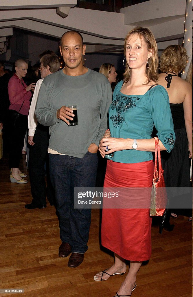Roland gift stock photos and pictures getty images roland gift with his wife louise meldrum the whale rider movie premiere at the ucg haymarket negle Gallery
