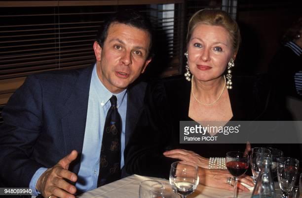 Roland Giraud et sa femme Maaike Jansen