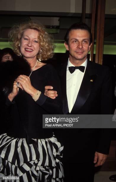 Roland Giraudd et sa femme Maaike Jansen