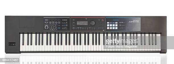 A Roland JunoDS88 synthesizer taken on June 27 2016