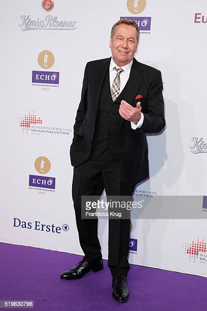 Roland Kaiser attends the Koenig Pilsener At Echo Award 2016 on April 07 2016 in Berlin Germany