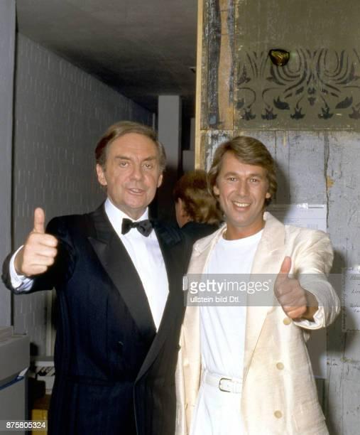 Roland Kaiser mit Harald Juhnke
