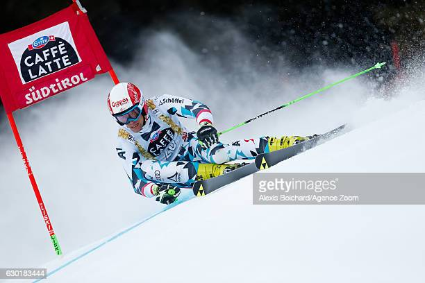 Roland Leitinger of Austria competes during the Audi FIS Alpine Ski World Cup Men's Giant Slalom on December 18 2016 in Alta Badia Italy