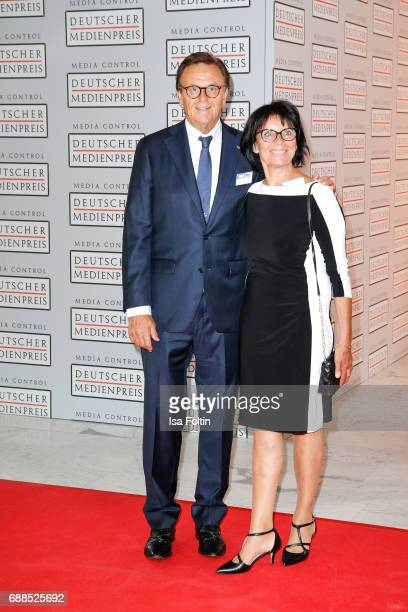 Roland Mack, owner of Europapark Rust and his wife Marianne Mack during the German Media Award 2016 at Kongresshaus on May 25, 2017 in Baden-Baden,...