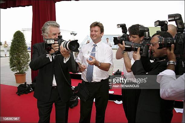 Roland Magdane in Monaco on June 26, 2005.