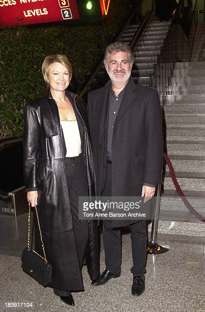 Roland Magdane & Wife during La Rue des Plaisirs Premiere at Acropolis in Nice, France.