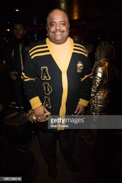 Roland Martin attends his 50th birthday celebration at The Park At 14th on November 15 2018 in Washington DC
