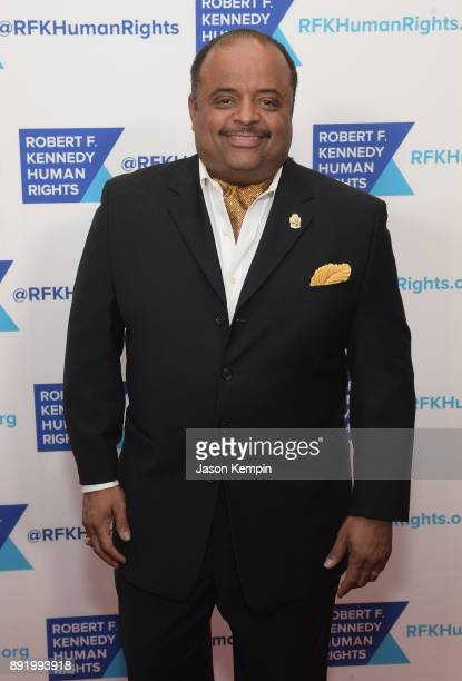 Roland Martin attends Robert F Kennedy Human Rights Hosts Annual Ripple Of Hope Awards Dinner on December 13 2017 in New York City