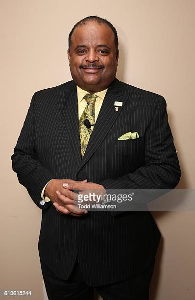 Roland Martin attends the Inform Your Vote President Election Debate at The Tabernacle on October 8 2016 in Inglewood California